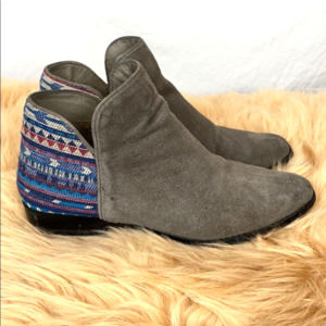 ⭐️ 3 for $25 Sbicca suede southwestern boho bootie
